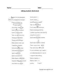Editing worksheets also writing rh englishlinx
