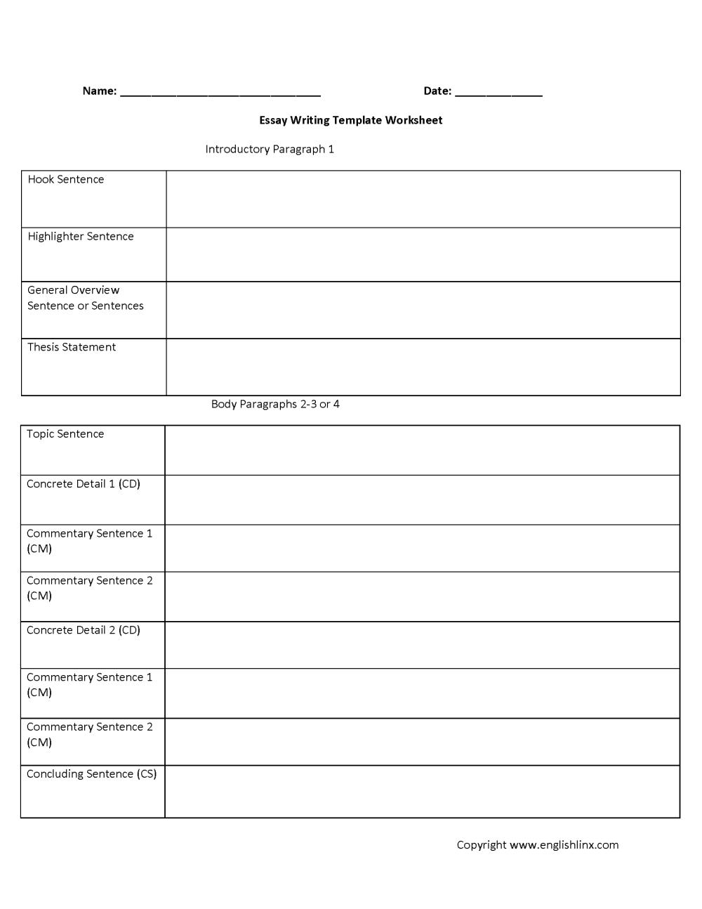 medium resolution of Writing Worksheets   Writing Template Worksheets
