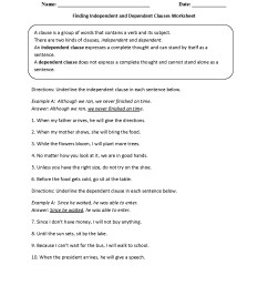 Englishlinx.com   Clauses Worksheets [ 1650 x 1275 Pixel ]