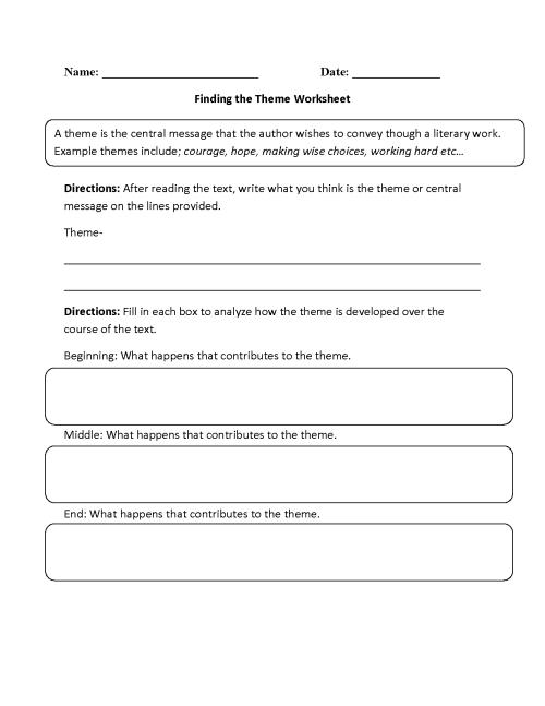 small resolution of Englishlinx.com   Theme Worksheets