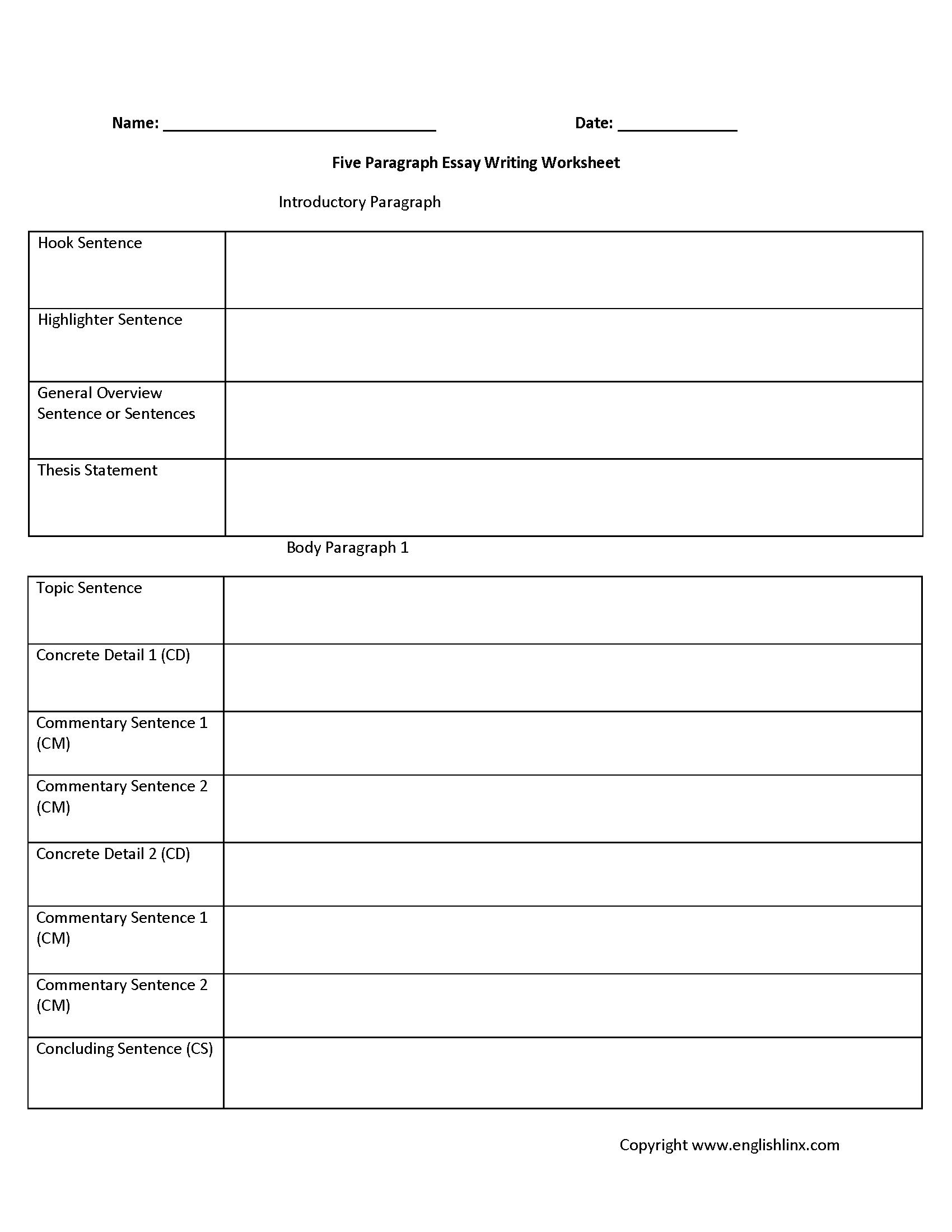 hight resolution of Englishlinx.com   Writing Worksheets