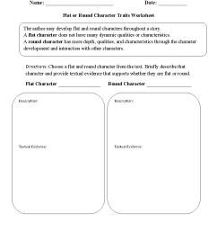 Reading Worksheets   Character Traits Worksheets [ 1188 x 910 Pixel ]