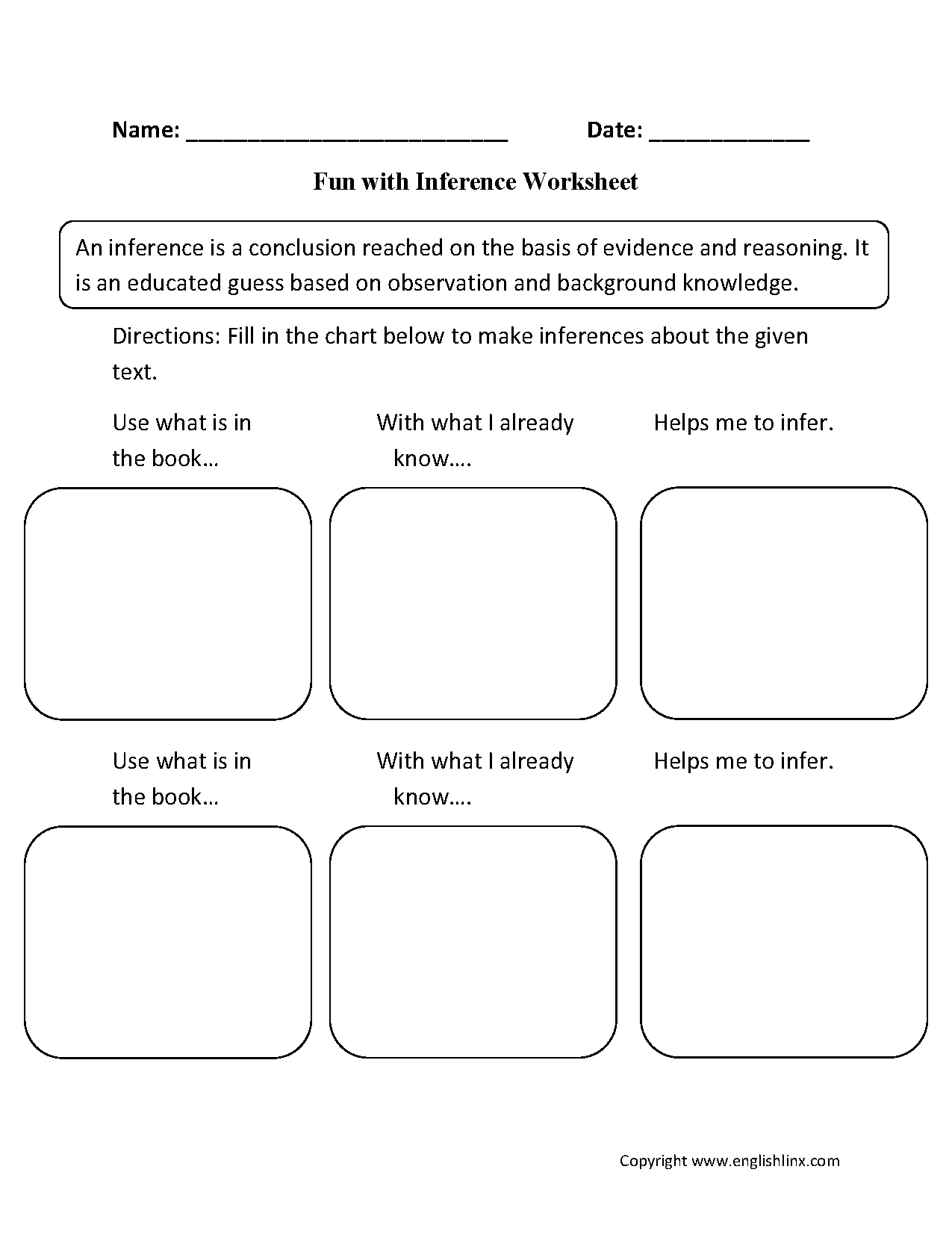 Worksheet Inference Worksheets Middle School Grass Fedjp