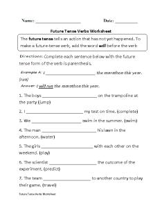 Grades  verb tenses worksheets also verbs rh englishlinx