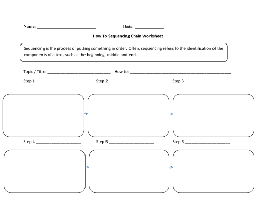 small resolution of Writing Worksheets   Sequencing Worksheets
