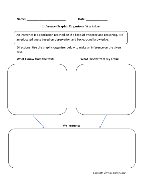 small resolution of Graphic Organizers Worksheets   Inference Graphic Organizers Worksheets