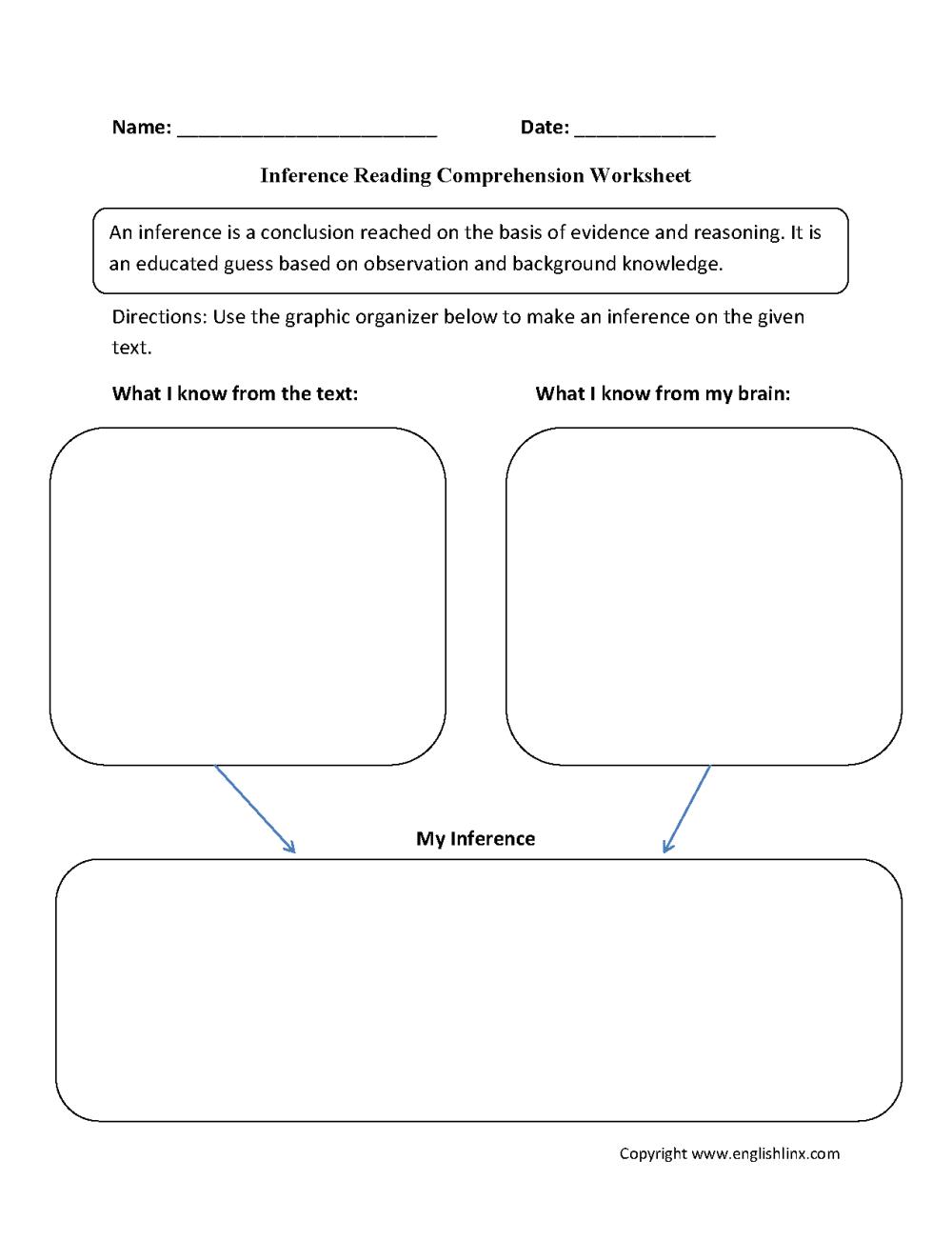 medium resolution of Englishlinx.com   Reading Comprehension Worksheets