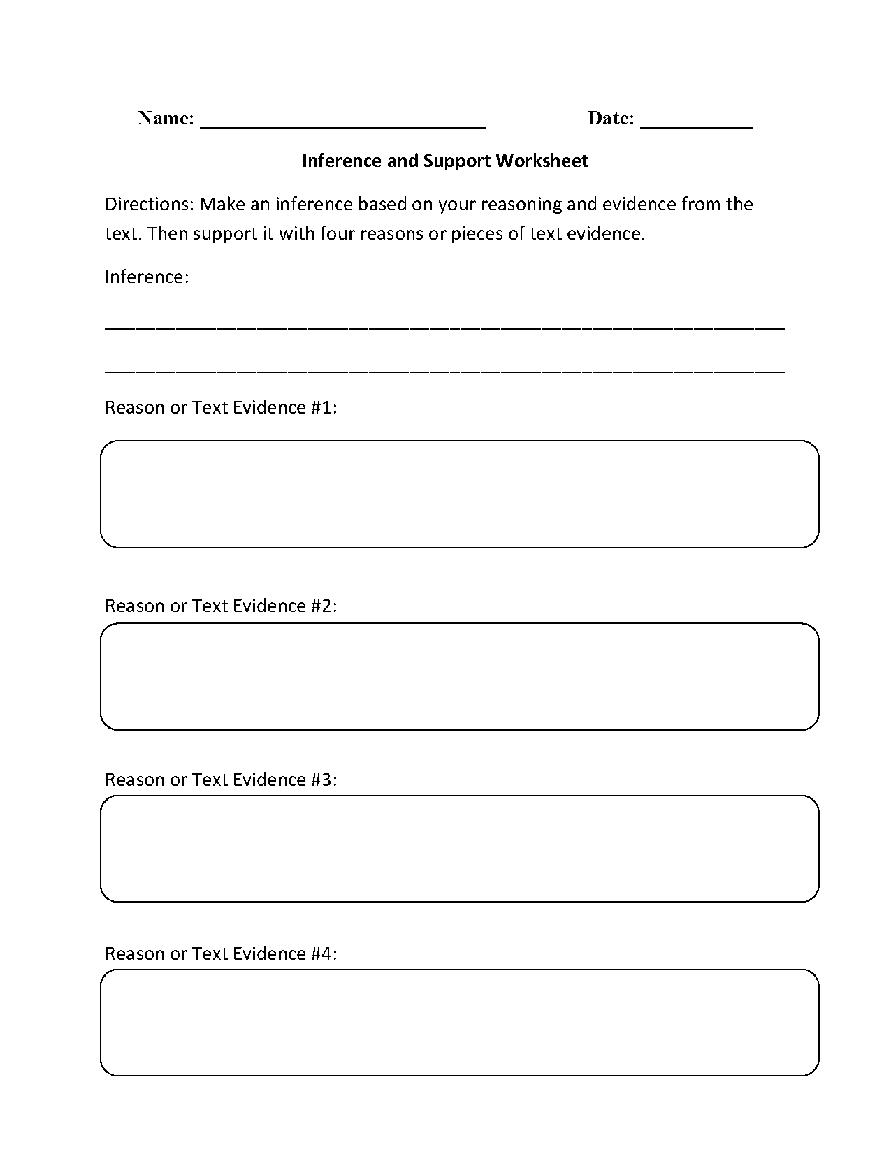 hight resolution of Reading Worksheets   Inference Worksheets