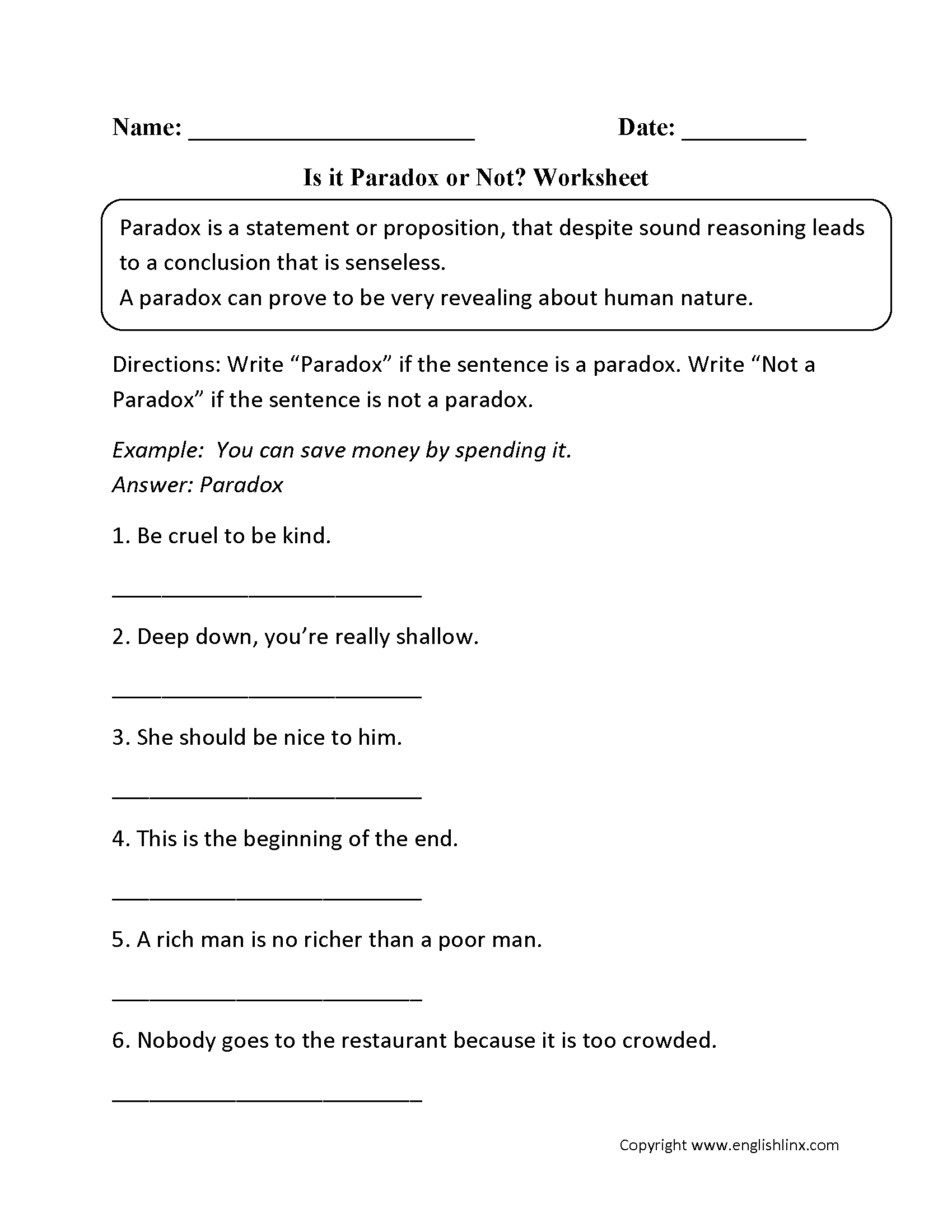 Worksheet Identifying Irony Worksheet Answers Grass Fedjp Worksheet Study Site
