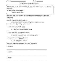 Vocabulary Worksheets   Homograph Worksheets [ 1662 x 1275 Pixel ]