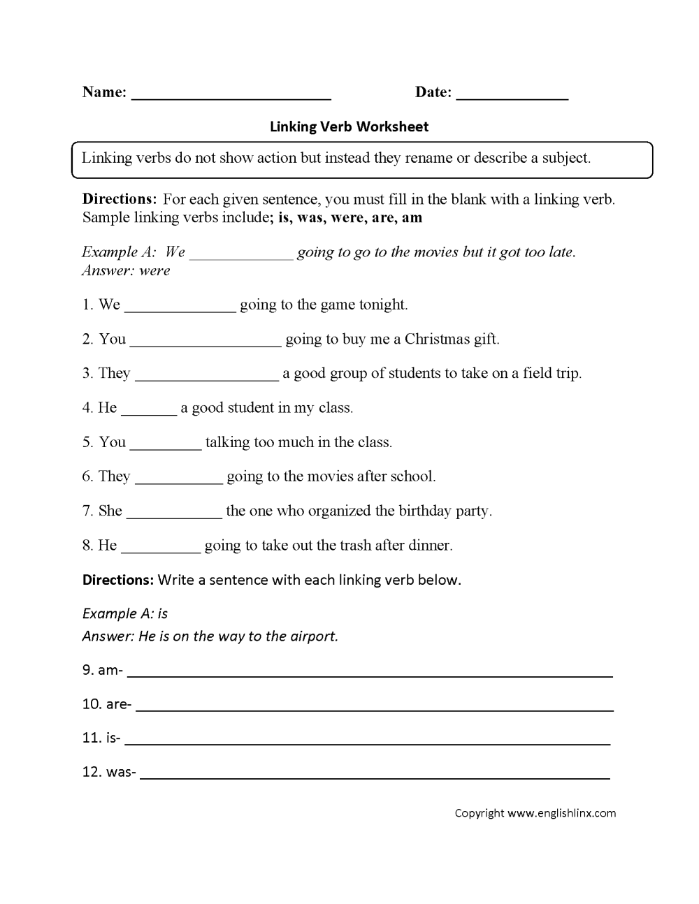 medium resolution of Parts Speech Worksheets   Verb Worksheets