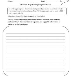 Writing Prompts Worksheets   Argumentative Writing Prompts Worksheets [ 2200 x 1700 Pixel ]