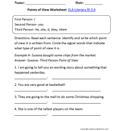 3rd Grade Common Core   Reading Informational Text Worksheets [ 2200 x 1700 Pixel ]