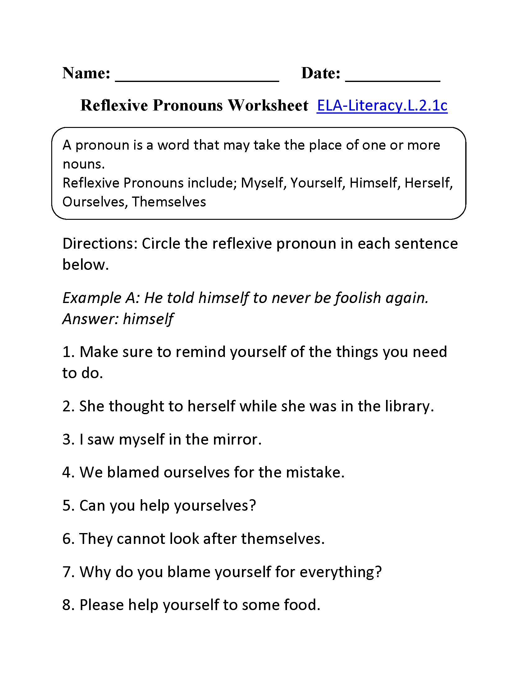 hight resolution of 2nd Grade Common Core   Language Worksheets