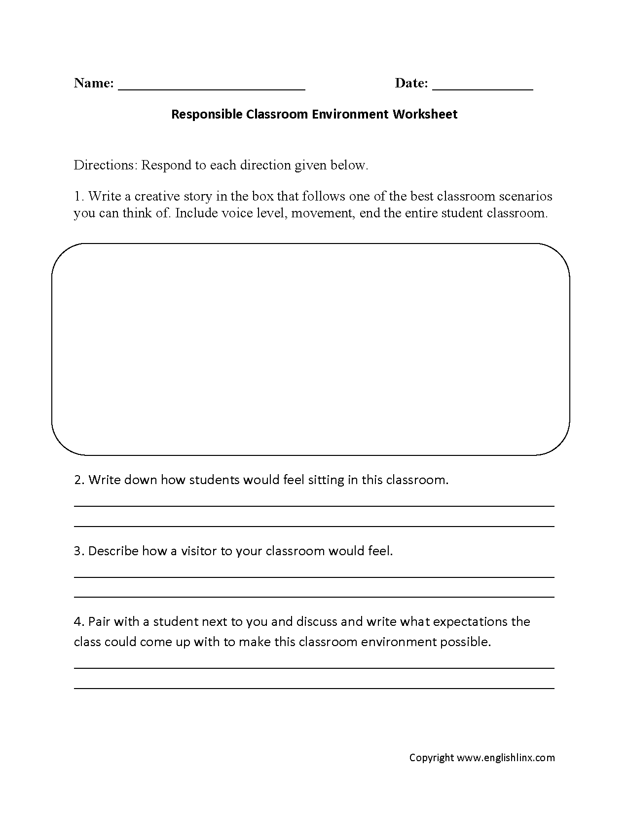 Our Helpers Worksheet Class 1