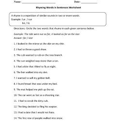 Englishlinx.com   Rhyming Worksheets [ 1662 x 1275 Pixel ]