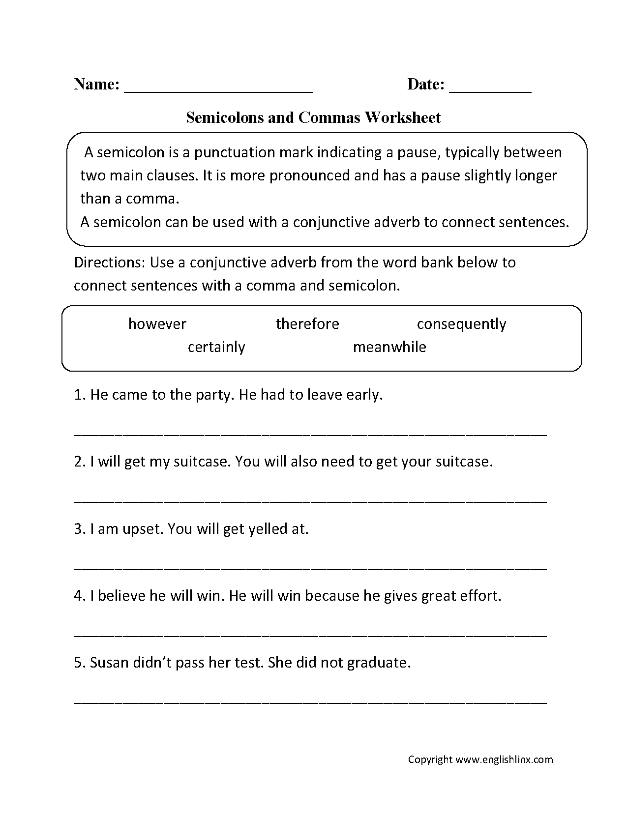 Worksheet Punctuation Worksheets High School Grass Fedjp