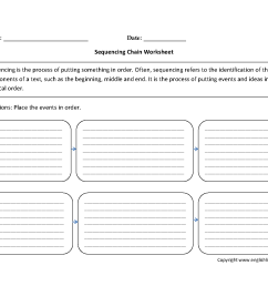 Writing Worksheets   Sequencing Worksheets [ 1284 x 1650 Pixel ]