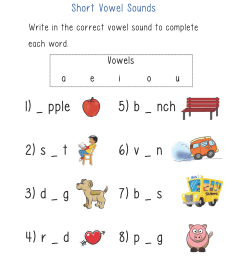 Englishlinx.com   Vowels Worksheets [ 3300 x 2550 Pixel ]
