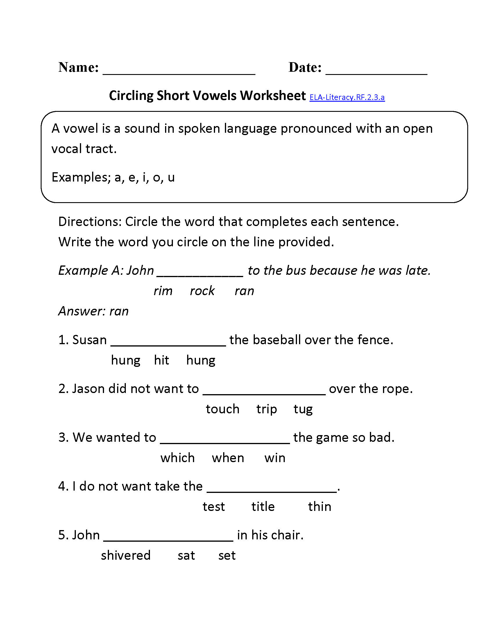 Search Results For 2nd Grade Reading Worksheets