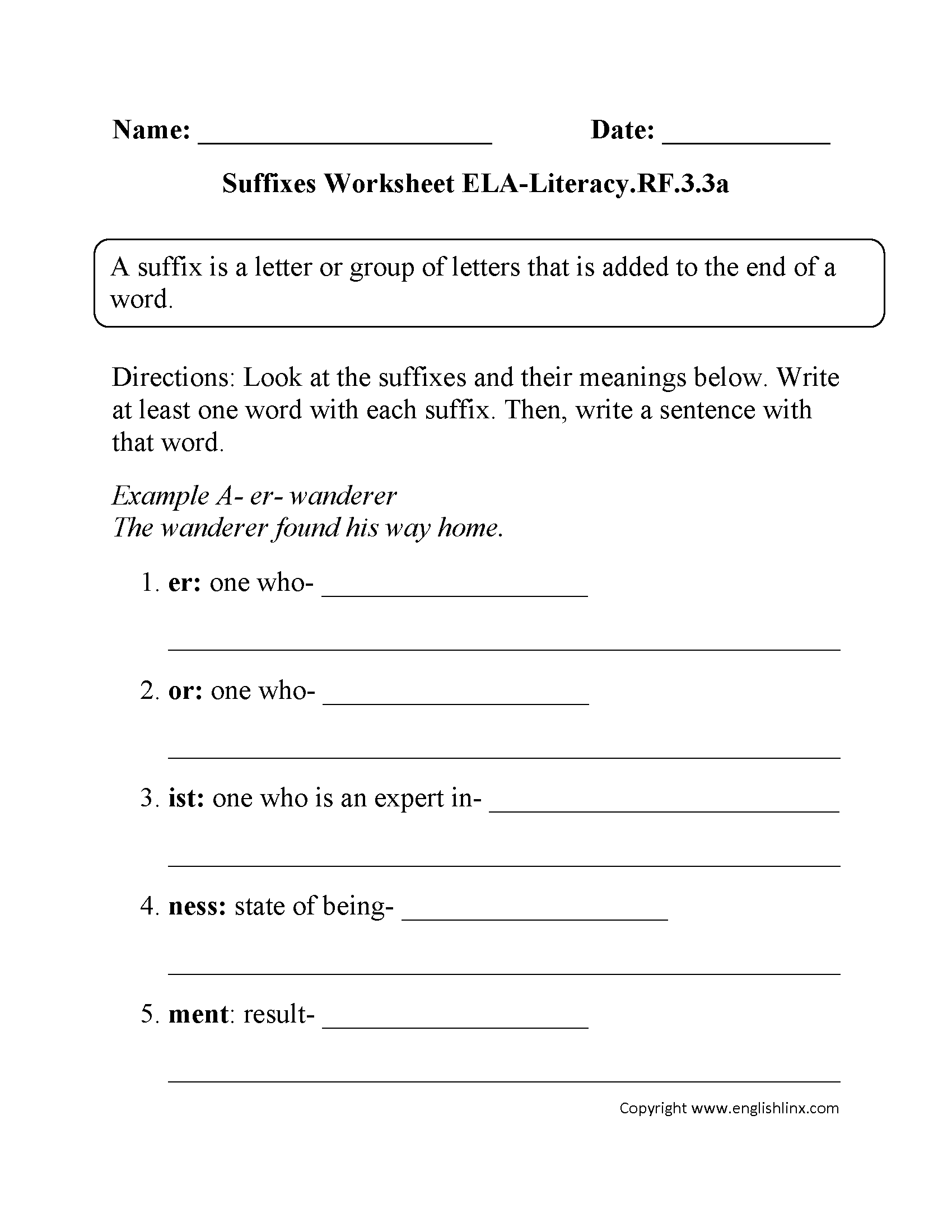 hight resolution of 3rd Grade Sentence Writing Worksheets   Printable Worksheets and Activities  for Teachers