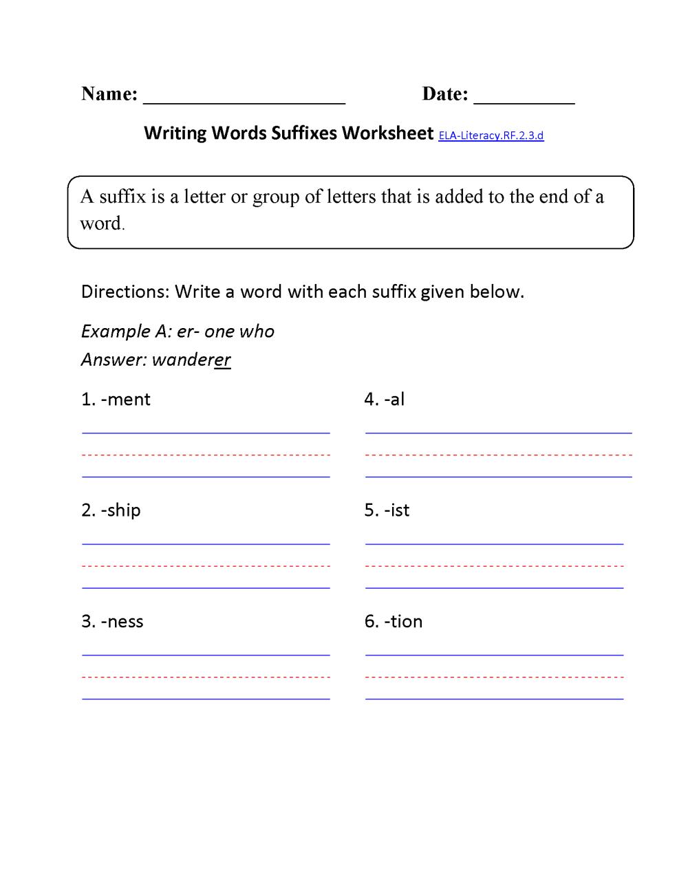 medium resolution of 2nd Grade Common Core   Reading Foundational Skills Worksheets