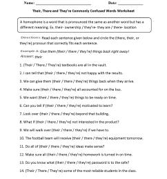 Commonly Misspelled Words Worksheet - Nidecmege [ 2200 x 1700 Pixel ]