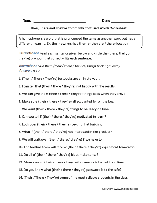 small resolution of Commonly Misspelled Words Worksheet - Nidecmege