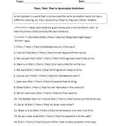 Punctuation Worksheets   Apostrophe Worksheets [ 1188 x 910 Pixel ]