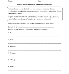 Englishlinx.com   Conjunctions Worksheets [ 1662 x 1275 Pixel ]