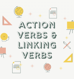 Learning about Action verbs and Linking verbs   English Live Blog [ 1080 x 1080 Pixel ]