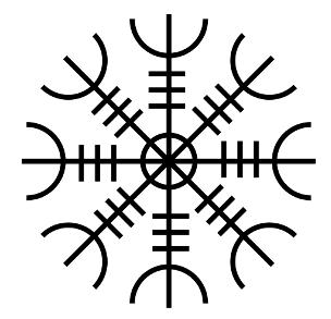 Aegishjalmur Nordic Symbol explanation