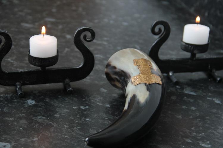Asatru Mead Horn for Rituals