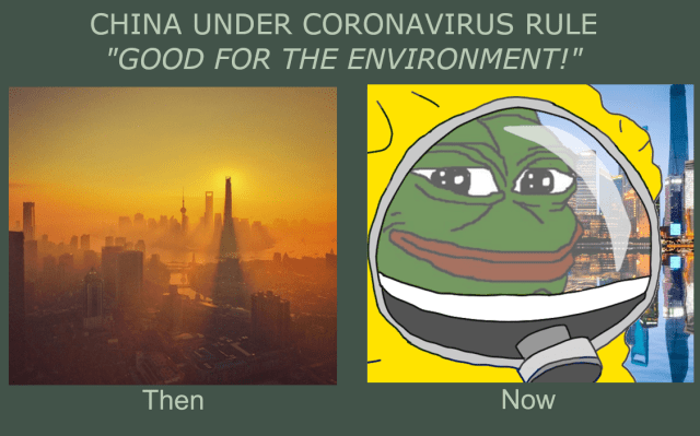 China before and after Coronavirus