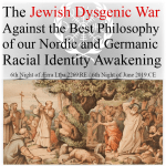 Racial Awakening of Europeans attacked by Jewish Supremacists