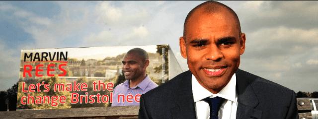 Marvin Rees Black Negro Bristol Mayor