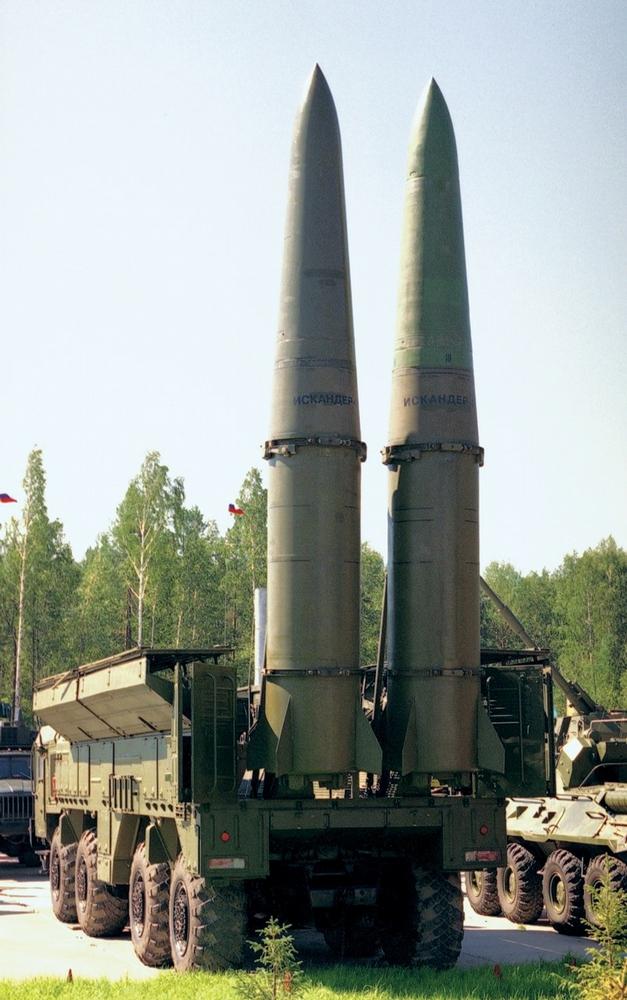 Russian Warrior Ballistic Missile System Iskander