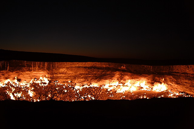 door to hell in Darvaz 4