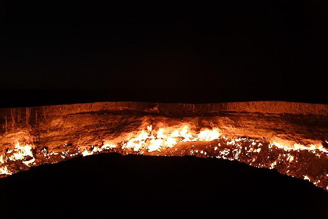 door to hell in Darvaz 7