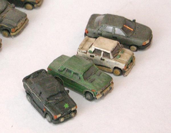 russian cars made of plasticine 4