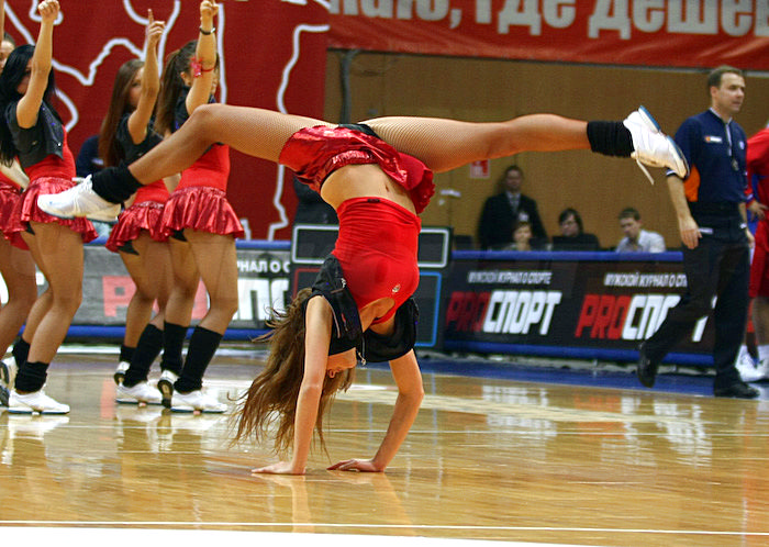 Russian cheerleaders 36