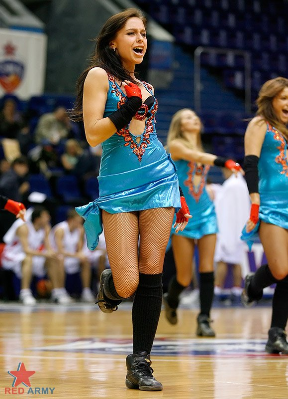 Russian cheerleaders 6