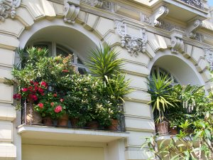 French garden window Apartment French Riviera