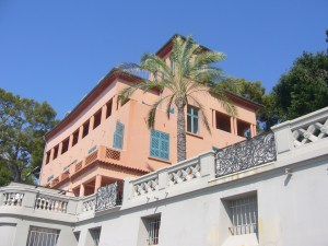 u2 Bono's house in Eze South of France