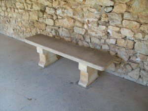 Stone Bench in France