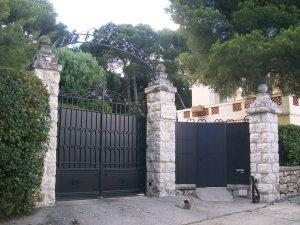 Mansion Gate Mont Boron Nice French Riviera