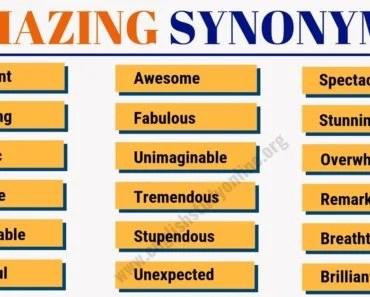 however synonym list of