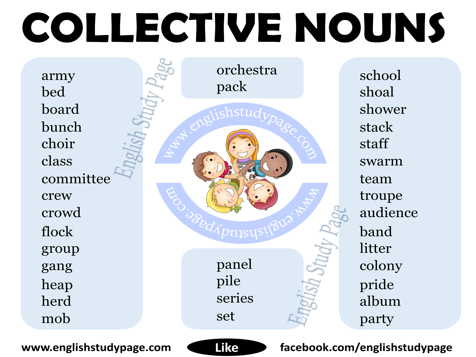 Collective Nouns In English