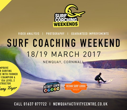 surf coaching weekend