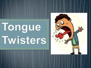 Tongue Twisters ESL Game